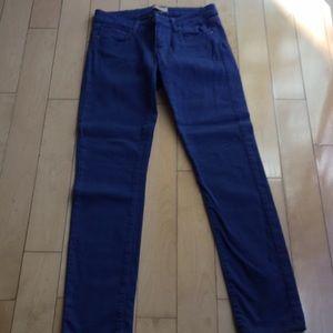 PAIGE cobalt blue Size 26 Skinny Jean